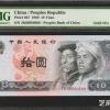 80版十元在第四套人民币中的地位以及当前行情
