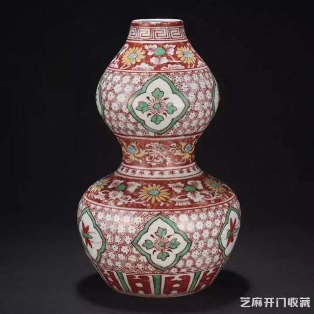 明代红绿彩瓷及图片欣赏