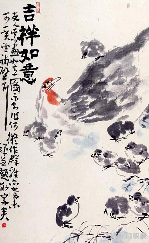 李苦禅大写意花鸟绘画特点