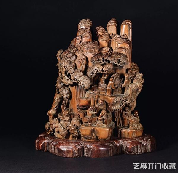 清代木雕造像造假作伪全过程
