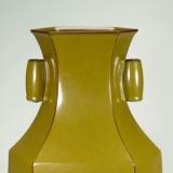 什么是鳝鱼黄釉瓷器