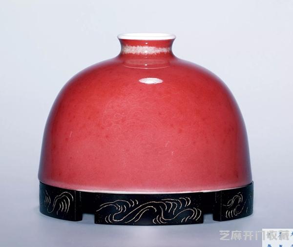 豇豆红瓷器的市场行情