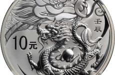 2012年龙年纪念币特性分析