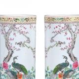 粉彩帽筒瓷器的工艺和收藏价值