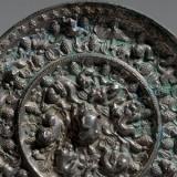 唐代海兽葡萄纹铜镜