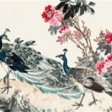 张世简花鸟画作品欣赏