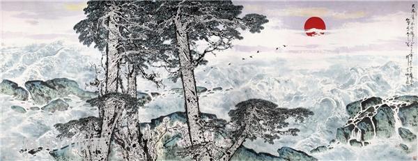 刘宝纯书画每平尺的价格