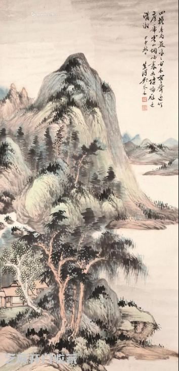 吴琴木山水画价格