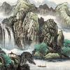 杜中良的山水画多少钱一平尺