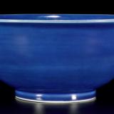 明代霁蓝釉三足香炉值多少钱