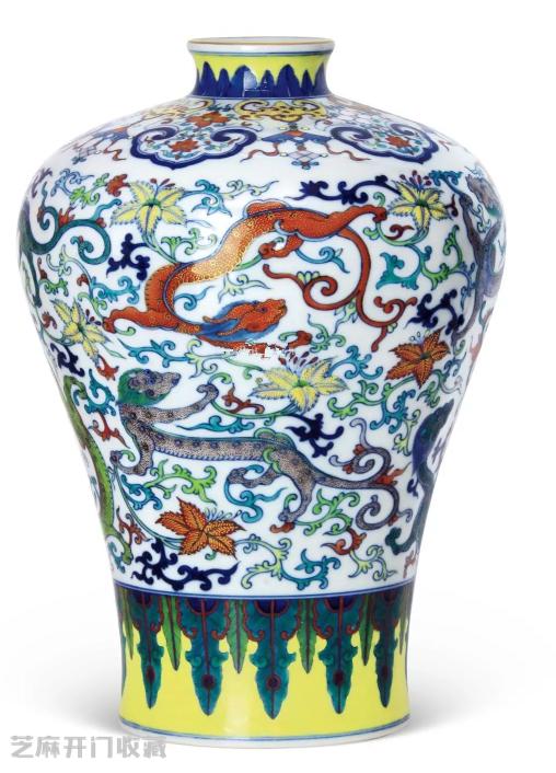 雍正青花斗彩瓷器图片及拍卖成交价格