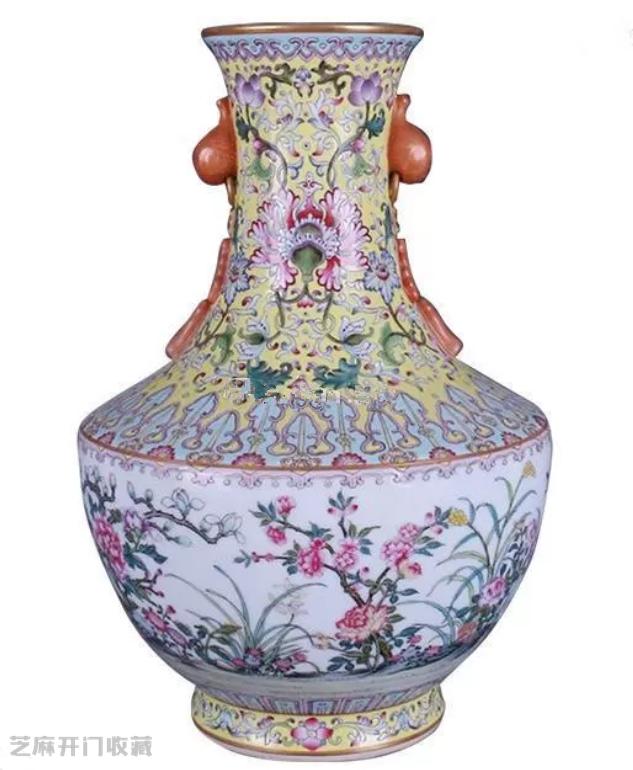 珐琅彩瓷器拍卖价格