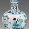斗彩瓷器特征及拍卖成交价格