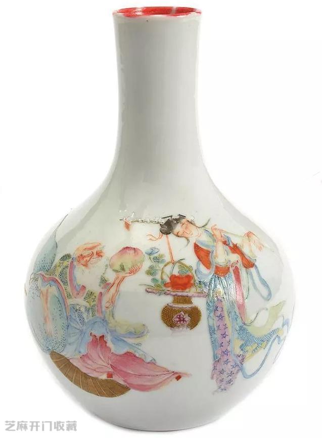 麻姑献寿粉彩瓷器图片及拍卖成交价格
