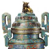 清朝铜胎掐丝珐琅价格