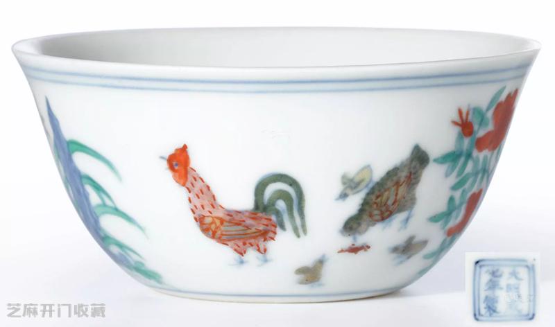 成化斗彩鸡缸杯鉴定与价格