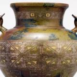 仿古铜彩瓷器图片及价格