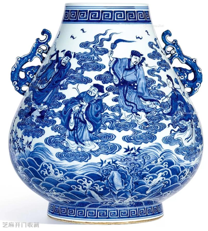 清朝八仙纹瓷器图片及价格