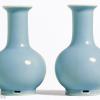 清代天蓝釉瓷器图片及拍卖成交价格