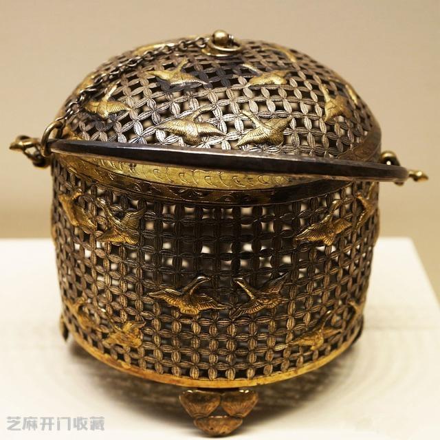 唐代金银器,奢华中透着典雅,件件堪称国宝!
