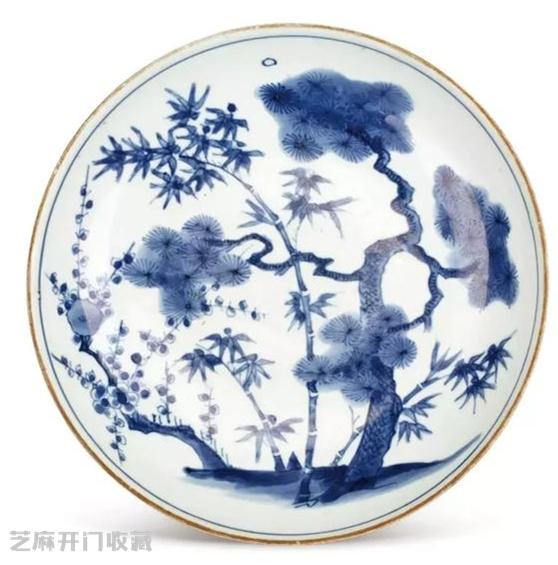 明末清初瓷器的特点就是纹饰题材极其丰富