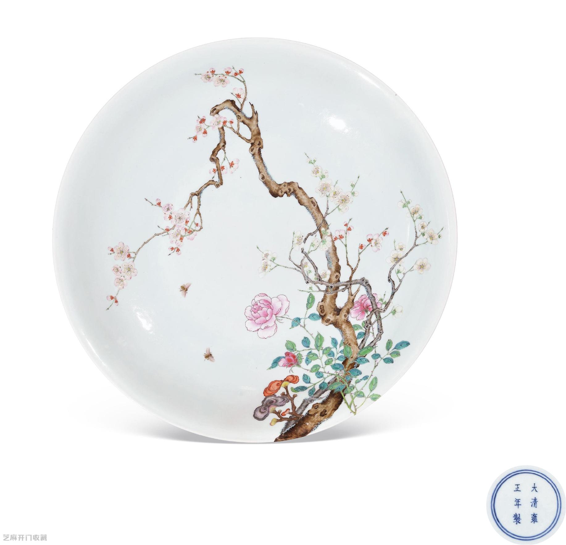 雍正粉彩瓷