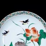 康熙五彩瓷器真品图及艺术特征