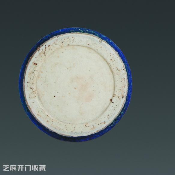 雪花蓝釉瓷器图片及价格
