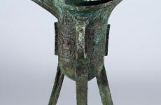 青铜爵杯真品图片及鉴定