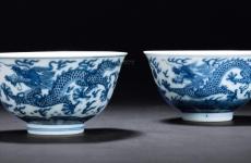 古代青花瓷小酒盅多少钱