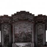 清代紫檀金丝楠木雕:高贵典雅、富丽堂皇之风