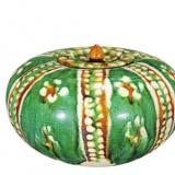三彩罐——独具特色的低温釉瓷器