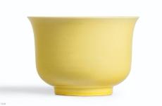 黄釉瓷器拍卖记录