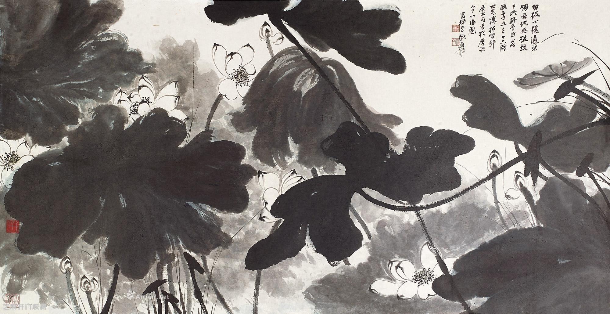 张大千:中国著名泼墨大家、国画大家