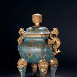 清代乾隆时期景泰蓝:做工精湛、种类丰富