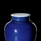 洒蓝釉瓷器:成色稳定、做工精细