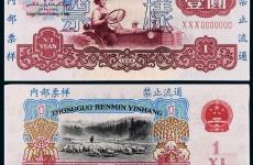 第三套人民币1元拖拉机价格是多少
