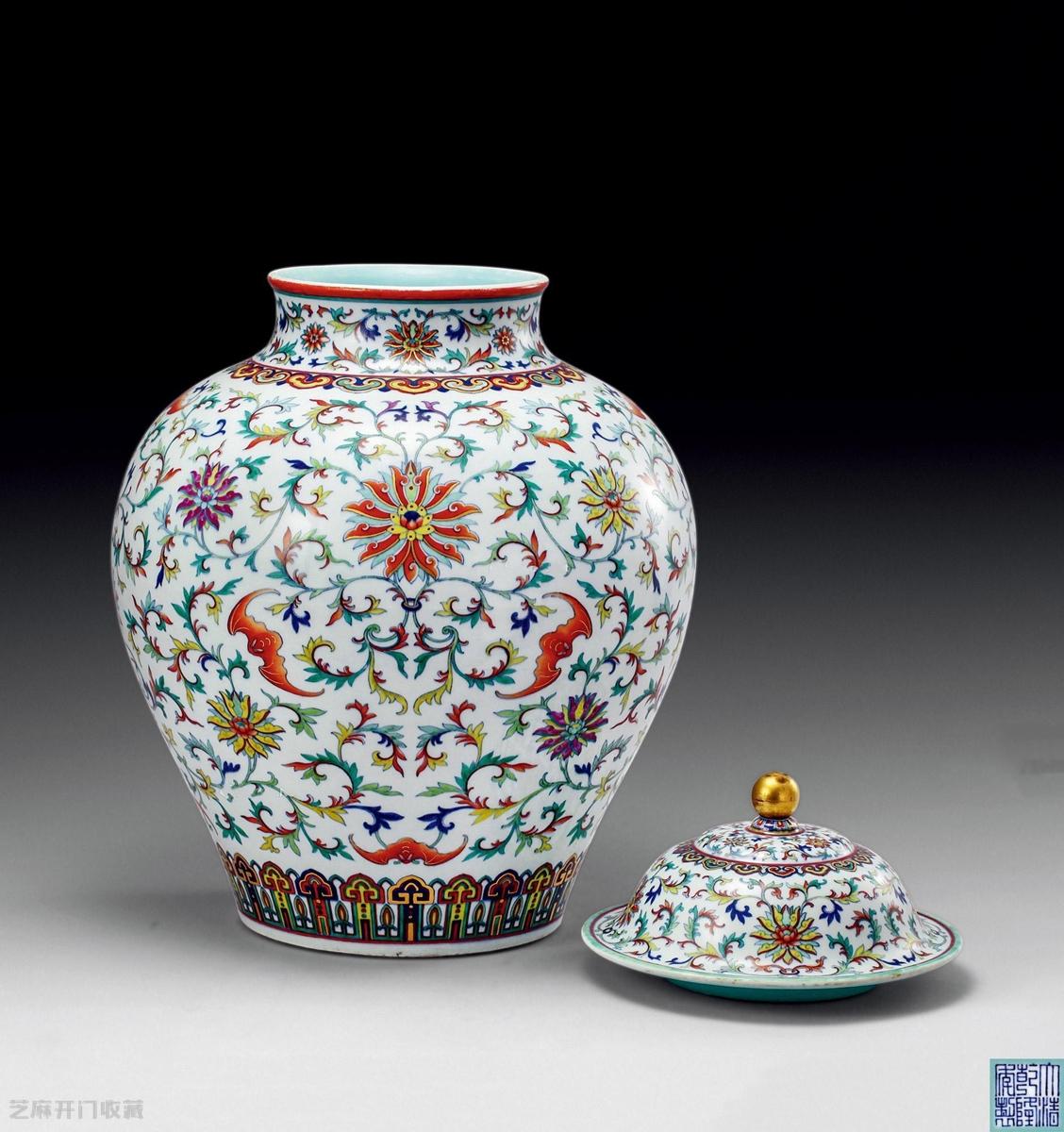 斗彩瓷器收藏价
