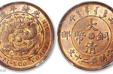 光绪元宝户部造的二十文制钱有没有收藏价值?