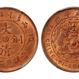 湖南省造当制二十文双旗币,目前存世量大吗?