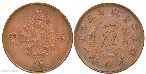 大清铜钱有没有收藏价值?